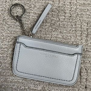 Marc Jacobs grey keychain wallet